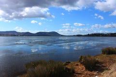 Derwent flod, Tasmania Royaltyfri Bild