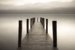 Derwent Jetty Royalty Free Stock Photography