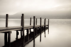 derwent jetty Fotografia Stock