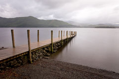 Derwent jetty Stock Photo