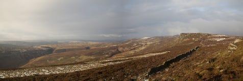 Derwent-Rand-Panorama Stockbild