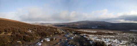 Derwent-Rand-Panorama Stockfoto