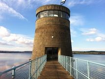 Derwent reservoir tower stock images