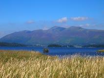 Derwent vatten i sjöområdet, England Royaltyfria Bilder