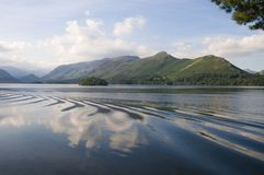 Derwent Water with Catbells, Lake District, Cumbria, England