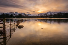 Derwent Water and Catbells Royalty Free Stock Photo