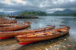 Derwent Water, Cumbria Stock Image