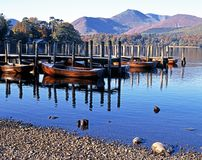 Derwent Water, Cumbria, UK. Royalty Free Stock Photography