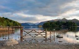 The Derwent Water Gateway stock photography