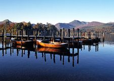 Derwent Water, Keswick, England. Royalty Free Stock Photo