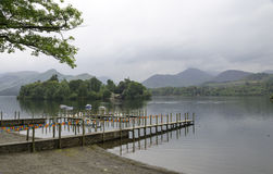 Derwent Water Keswick.Lake district Stock Photos