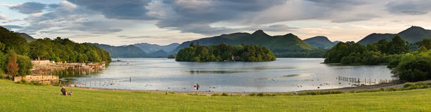 Derwent Water, Keswick Royalty Free Stock Photography