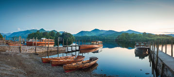 Derwent Water, Lake District Royalty Free Stock Images