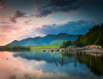 Derwent Water, Lake District Royalty Free Stock Photography