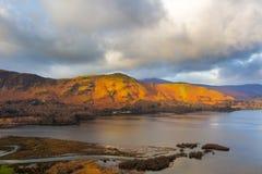Derwent Water Lake District National Park Stock Image