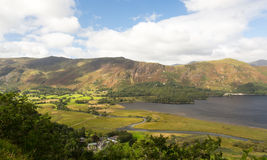 Derwent Water from viewpoint Stock Photos