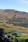 Derwentwater, Black Crag and Maiden Moor, Cumbria. View from Surprise View across the southern end of Derwentwater in the English Lake District, Cumbria looking Royalty Free Stock Photo