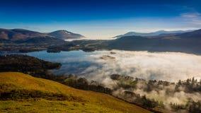 Derwentwater Cloud Inversion Royalty Free Stock Photo