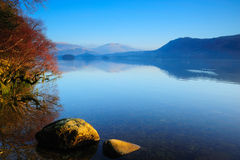 Derwentwater Cumbria Royalty Free Stock Photos