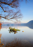 Derwentwater at Dawn Royalty Free Stock Photography