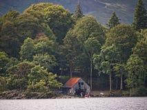 Derwentwater en el distrito del lago en Inglaterra del noroeste Foto de archivo libre de regalías