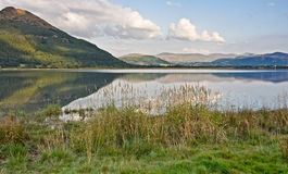 Derwentwater in evening light Royalty Free Stock Image