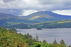 Derwentwater From Catbells Stock Photography