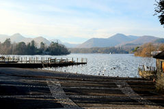 Derwentwater, Keswick,Cumbria. royalty free stock images