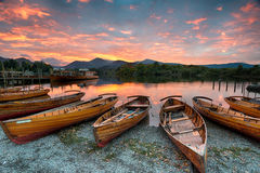 Derwentwater at Keswick Stock Images