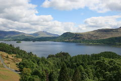Derwentwater in the Lake District Royalty Free Stock Photography
