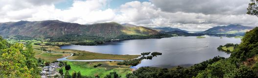Derwentwater in the Lakes District Stock Photo