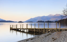 Derwentwater Landing Stage Stock Photos