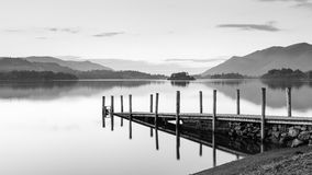Derwentwater Landing Stage Royalty Free Stock Images