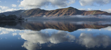 Derwentwater panorama Stock Photos