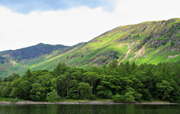 Derwentwater scene Royalty Free Stock Photos