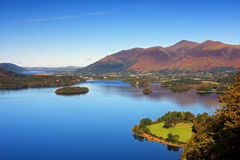 Derwentwater View Stock Images