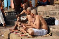 Derwisch von Varanasi Stockbild