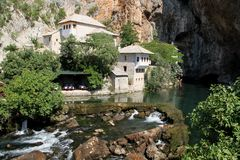 Derwischhaus Bosnien und Herzegowina Stockbilder