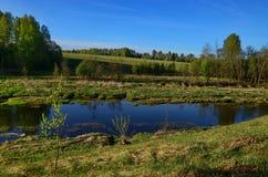 Derzha河 可以 库存图片
