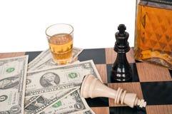 Des échecs - appréciez le jeu photo libre de droits