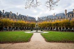 des θέση Vosges του Παρισιού Στοκ φωτογραφία με δικαίωμα ελεύθερης χρήσης