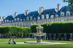 Des Вогезы места в Париже Стоковые Фото