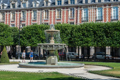 Des Вогезы места в Париже Стоковая Фотография
