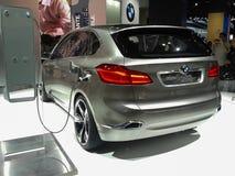 Des aktiven hybrides Auto Tourerkonzeptes BMWs Stockbild