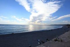 DES Anges Blue Coast da costa d 'Azur la Baie imagem de stock