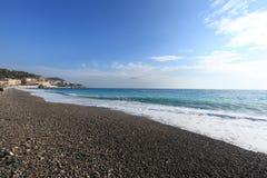 DES Anges Blue Coast de Cote d ?Azur la Baie foto de archivo