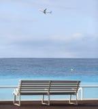 DES Anglais de promenade à Nice Image stock