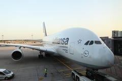 Des 380 avions Photo libre de droits