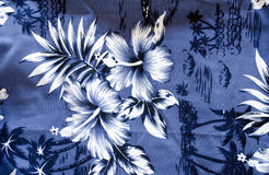 Des Badehosehintergrundes der kurzen Hosen aktuelle Blumenpalme Lizenzfreies Stockbild