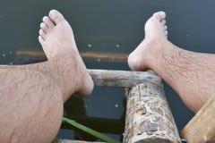 Des Bades Thema draußen Stockfotos